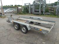 car trailer mini diger dumper transporter project spares or repair