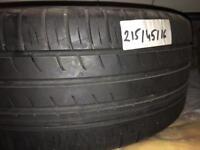 Part worn tyre tyres 215/45/16