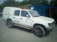 2000 Toyota Hilux Spares or Repair (melted piston on cylinder 2)