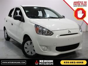 2015 Mitsubishi Mirage SE Auto Sieges-Chauffant Bluetooth A/C Cr
