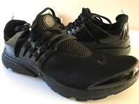 Nike Air Presto Triple Black UK 7.5