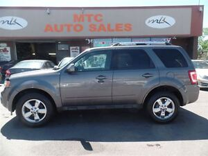2011 Ford Escape Limited 3.0L, LEATHER, SUNROOF, 4X4