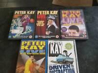 set of 5 peter kay dvd.s.