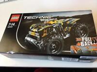Lego 7-14 Technic pull back getaway racer