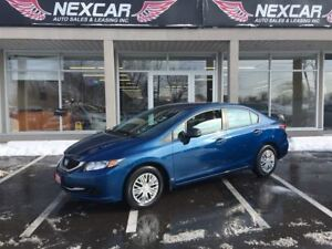 2013 Honda Civic DX 5 SPEED BASIC POWER WINDOWS 59K