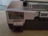 Panasonic CD, radio, casette player