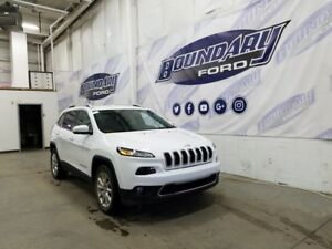 2016 Jeep Cherokee Limited W/ 2.4L 4 Cylinder, 4X4, 5 Passenger