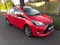 2015 TOYOTA YARIS ICON 1.0 VVTI 5 DOOR 9,000 MILES LOW MILEAGE FREE ROAD TAX\CHEAP INSURANCE