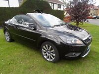 FORD FOCUS CONVERTIBLE ONE OWNER FROM BRAND NEW FULL SERVICE HISTORY VERY LOW MILEAGE