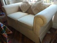 FREE: 2 Seater Yellow Laura Ashley Sofa