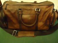 jasper conran weekend leather holdall