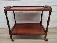 Vintage Teak Trolley (DELIVERY AVAILABLE FOR THIS ITEM OF FURNITURE)
