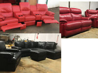 Harveys, DFS leather sofas, suite, couch, settee DELIVERY AVAILABLE