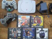 PSone and games