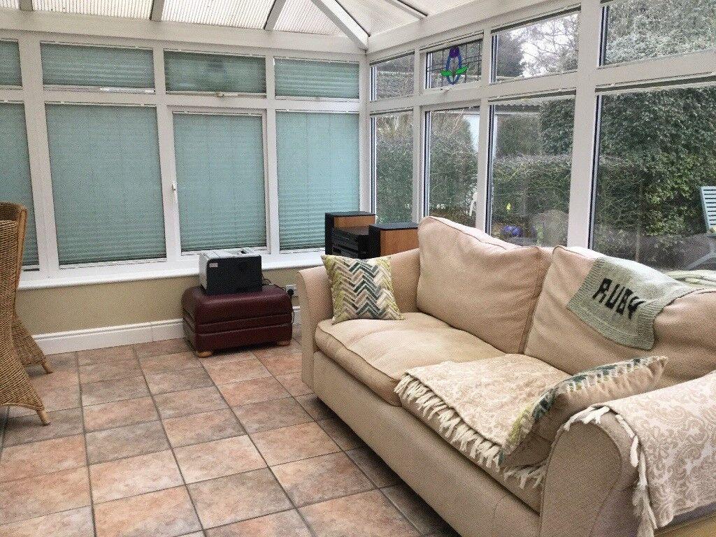 Upvc White conservatory