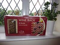 WINE RACK STILL IN THE BOX FOR 30 BOTTLES