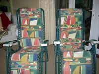 Lafuma reclining chairs