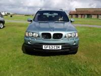 53 PLATE BMW X5 3LTR SPORT AUTOMATIC DIESEL 4X4 WITH SERVICE HISTORY