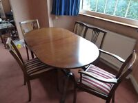 Strongbow Furniture dining table and sideboard set - PRICE REDUCED