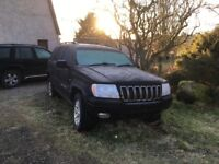 Jeep Grand Cherokee for spares only. Not a runner