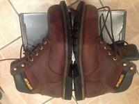 MENS LEATHER CAT BOOTS SIZE 11 RRP£150