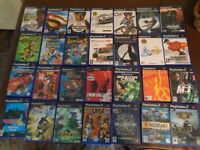Bargain bundle of 28 PS2 games including some rarities