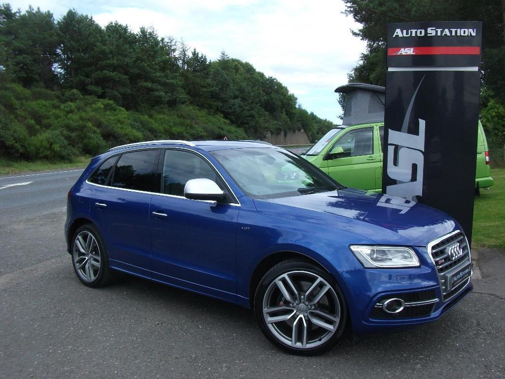 audi q5 sq5 quattro tip auto blue 2014 in elgin moray. Black Bedroom Furniture Sets. Home Design Ideas