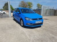 Volkswagen Polo S 2015. 1.0 SE. 5 door. Bluemotion Tech. Bluetooth. DAB radio. 1 owner