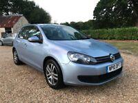 Volkswagen Golf 1.6 TDI £30 Tax New MOT Brakes Service Cambelt Water Pump FSH AUX Cruise Control VGC