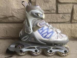 Rollerblade Spitfire TWG Inline Skates Kid's 72mm/80A Adjustable Sizes 2 to 5