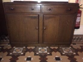 beautiful oak finished period sideboard or cupboard can deliver