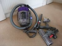 Dyson Vacuum Cleaner. Complete with all tools and instruction manual. Hardly used, good condition