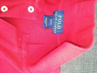 Kids Ralph Lauren Polo (red)
