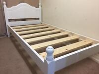 Brand new pine single bed