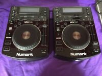 Numark NDX 500 x 2 and Numark N6 Mixer