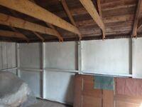 Garden hut/garage/workshop, 16.3ft x 10.5ft