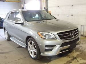 2015 Mercedes-Benz M-Class ML400 AMG PACK, 4MATIC, PANO ROOF, NA