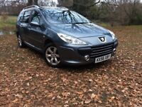 Peugeot 307 SW 2.0 HDi SE 5dr 7 Seater - Good Service History - New Mot Until January 2019