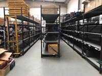 Industrial heavy duty warehouse racking