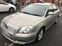 Toyota Avensis 31k Miles, full service history, very clean. Come with 12 month MOT