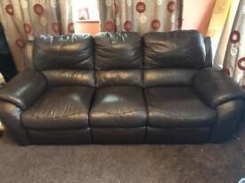 Sofa recliner three seater