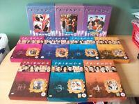 Lot of 10 Friends DVD Box Sets complete series, jennifer aniston, courteney cox, matt leblanc