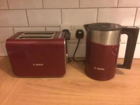 Matching Bosch Kettle and Toaster