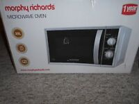 Morphy Richards Microwave Oven (used)