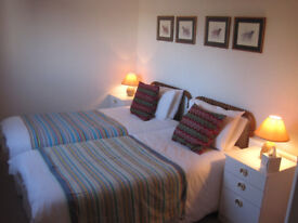 Large, comfortable, double rooms available for short lets