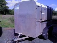 10 x 5 ifor williams cattle trailer . very clean and tidy