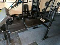 Dtx fitness weight bench multi gym