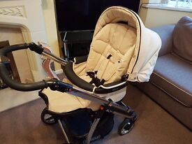 Bebecar ip-op cream push chair . Fantastic condition