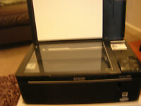 Epson SX125 Printer/Scanner New cartridges ...NOT WORKING FREE to COLLECT