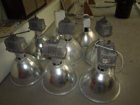 x8 400W Metal Halide Warehouse Lights WITH BULBS